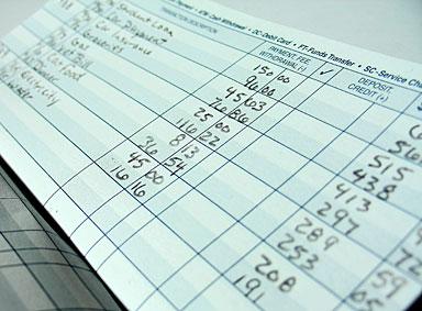 Balancing a checkbook